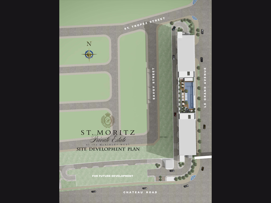 St Moritz Development Plans Properties Mckinley West
