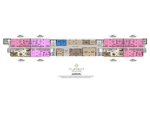 Lower Penthouse Floor Plan